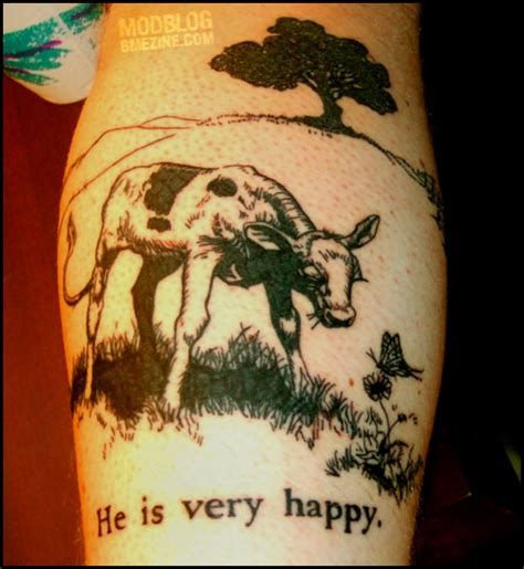 ferdinand the bull tattoo quot he is happy quot bme piercing and