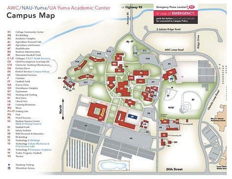 nau map student tools cusmap nau yuma