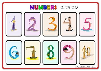 printable number posters 1 20 number posters aussie childcare network