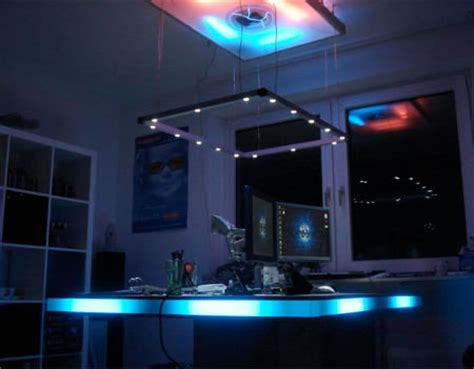 Desk Led Lights by Perfekt Desk Exposes Your Mood Swings