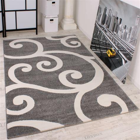 teppich in grau designer teppich grau weiss design teppiche