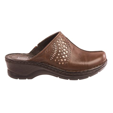clogs for womens josef seibel catalonia 28 leather clogs for save 81