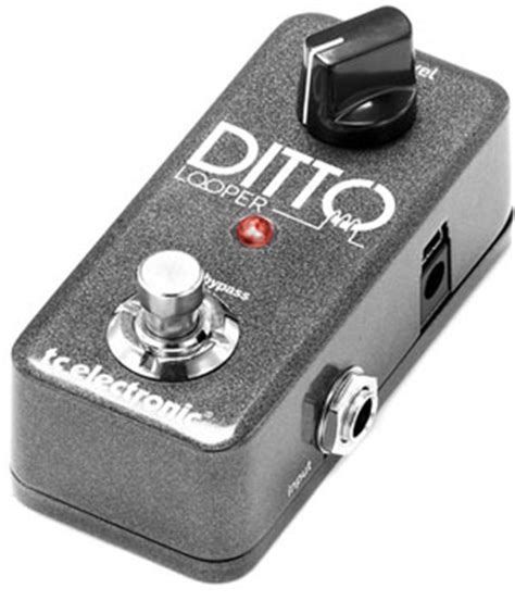 best guitar looper pedal tc electronic ditto looper review best guitar looper pedal