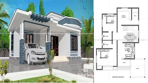 ?10 lakhs cost estimated modern home plan everyone will