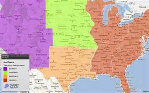 united states map of parts of the united states by