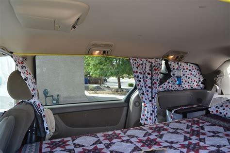 suv privacy curtains make van curtains sienna google search van pinterest