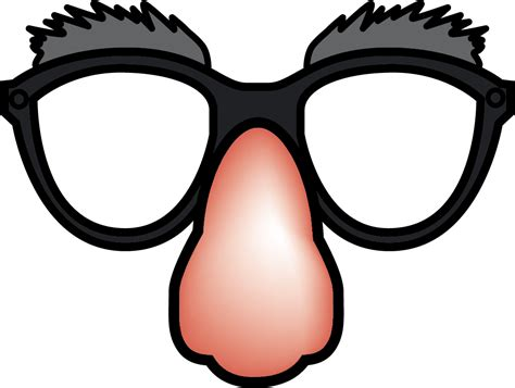glass cartoon funny glasses clipart