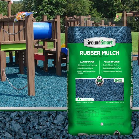 Rubber Mulch For Playground Calculator by Blue Groundsmart Rubber Mulch Bulk Discounts Free Shipping