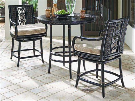 bahama outdoor dining set bahama outdoor marimba wicker counter set mrmbdin2
