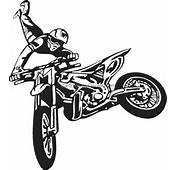 Motorcycle Stickers Dirt Bike Car Decals