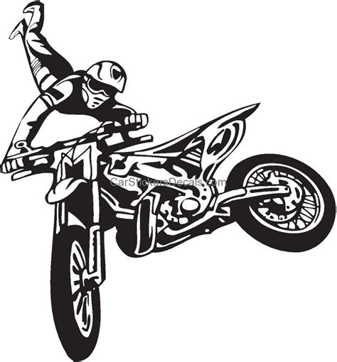 motocross bike stickers dirt bike sticker 215 decal car stickers decals