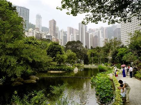 Hong Kong Zoological And Botanical Gardens Location Map Zoological And Botanical Gardens