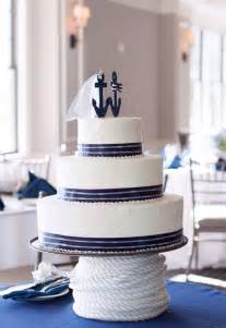 nautical themed wedding cake toppers nautical anchor groom cake topper by