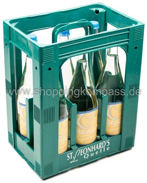 1 kasten wasser stilles wasser st leonhards mondquelle mineralwasser