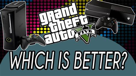 which is better xbox 360 or xbox one gta 5 graphic comparison xbox one and xbox 360 which is