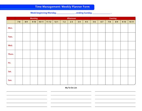 day planner template time management faudzil blogspot com time management sle of time