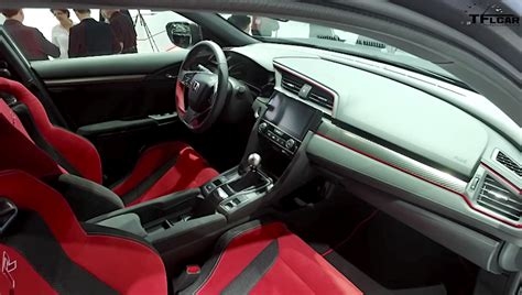 New Honda Civic Type R Interior by Exclusive Look At The 2018 Honda Civic Type R Interior La
