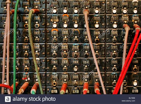 Switchboard Search Telephone Switchboard Stock Photo Royalty Free Image 28303190 Alamy