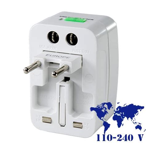 Travel Universal Adaptor adapters needed for cell phone recharges