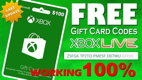 Xbox Gift Card Template by Free Xbox Live Gift Cards Codes Gift Ftempo
