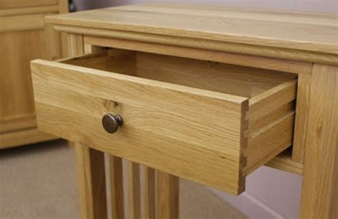 Solid Oak Console Table With Drawers by Colorado Solid Oak Furniture Hallway Console Table
