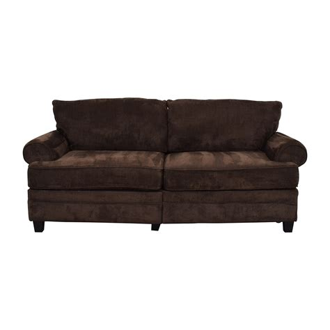 bobs furniture sofa sale 69 off macy s macy s tufted gray leather sofa sofas