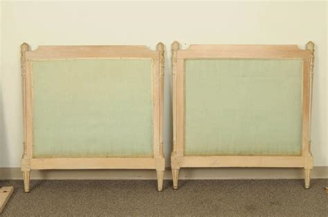 italian headboards pair of italian carved french neoclassical style twin beds