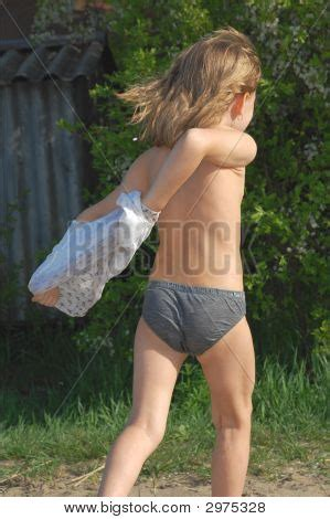Taking Wet Clothes Off Image Photo Bigstock