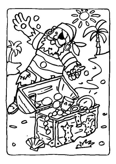 Coloriage Tr 233 Sor De Pirate