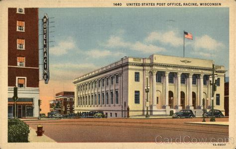 Post Office Racine Wi by United States Post Office Racine Wi
