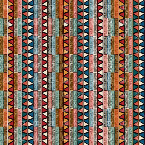 ethnic pattern art striped ethnic pattern seamless african ornament 28174