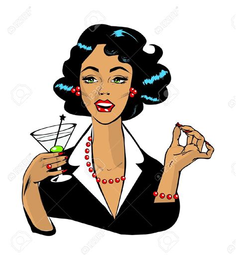 vintage cocktail clipart birthday cocktail clipart 47