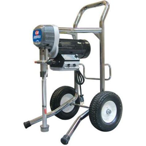 home depot paint sprayer electric cbell hausfeld 80 gpm electric piston airless paint
