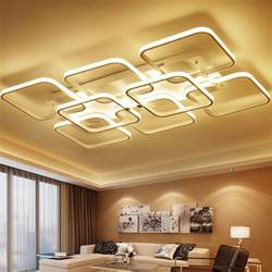 Ceiling Lights In Living Room Aliexpress Buy Square Surface Mounted Modern Led Ceiling Lights For Living Room Light