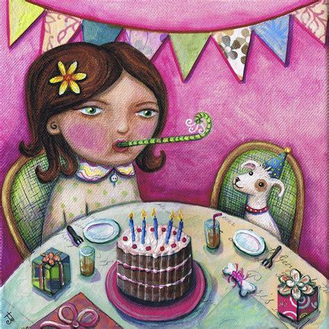 birthday painting happy birthday boo painting by joanna dover