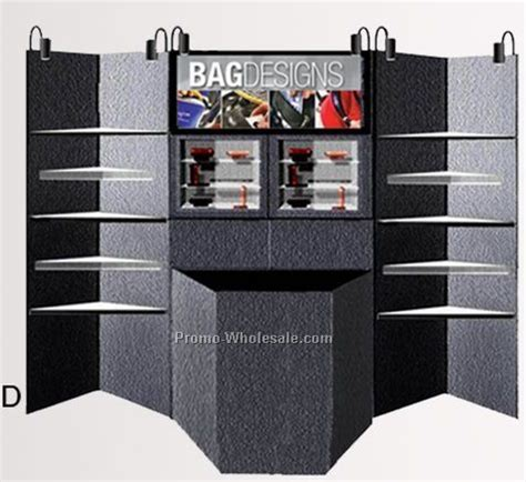 Promo Promo Box Akrilik Box Acrylic Box Display Figure Kotak Ka slatwall accessories acrylic bin 2 pockets wholesale china