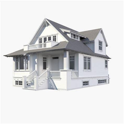 3d home modeling 3d family house model