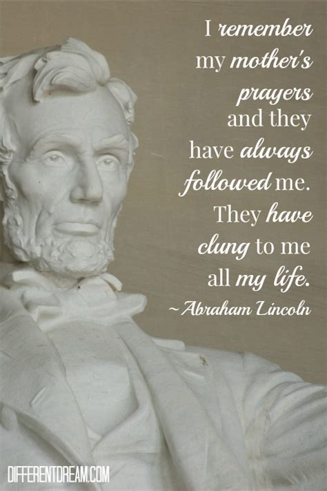my first biography abraham lincoln my mother s prayers different dream living