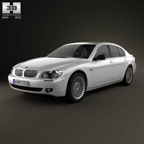 2008 bmw models bmw 7 series e65 2008 3d model hum3d