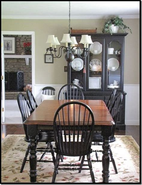 Black Dining Room Furniture by Best 25 Black Hutch Ideas On Pinterest Hutch Display