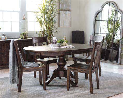 ashley trudell round dining mathis brothers furniture