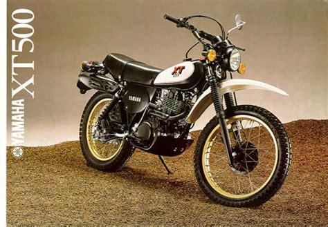 Yamaha Motorrad Modelle 1980 by Xt Bilder