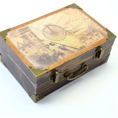 Wooden Decoupage Boxes - 124 best images about caixa 7 on madeira
