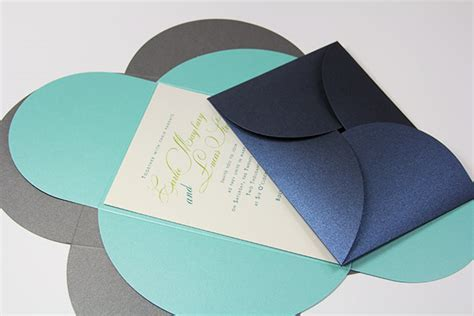 Pochette Invitations, Envelopes   Petal Fold Invitations