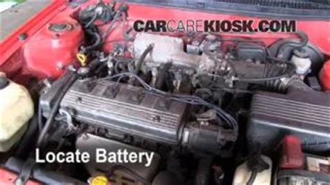 1996 Toyota Corolla Battery How To Clean Battery Corrosion 1993 1997 Toyota Corolla