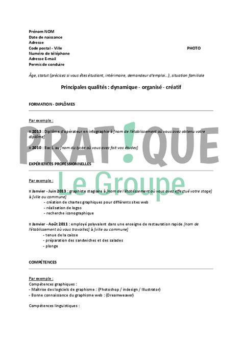 Modèle De Lettre Pour Un Décès Resume Format Exemple De Cv Gratuit D 233 Butant
