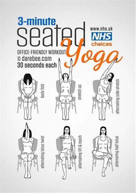 exercises      work diys chair yoga
