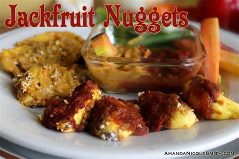 fruit nuggets gluten free breaded jackfruit nuggets amanda smith