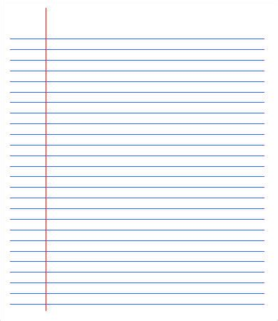 printable lined paper college ruled college ruled paper template 6 free pdf documents