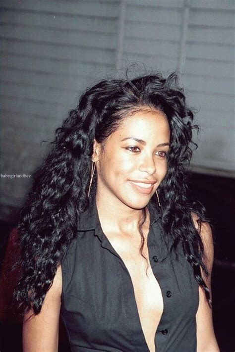 aaliyah hairstyles aaliyah curly hair